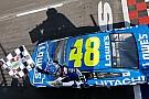 NASCAR Cup Джонсон завоевал 81-ю победу в NASCAR