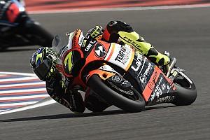 Moto2 Prove libere Termas de Rio Hondo, Libere 3: Baldassarri daccapo in vetta su pista umida