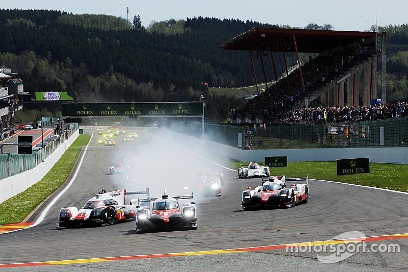 Toyota lidera las tres primeras horas en Spa