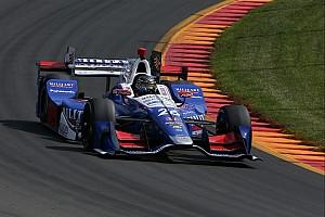 IndyCar 速報ニュース ワトキンスグレン予選:佐藤琢磨は4番手。同僚のロッシがポール獲得