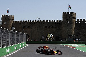 Formula 1 Practice report Azerbaijan GP: Verstappen quickest in FP2 before crashing out