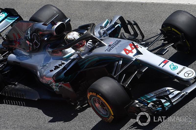 Hamilton: Mercedes için sorunsuz ve güzel bir gün oldu