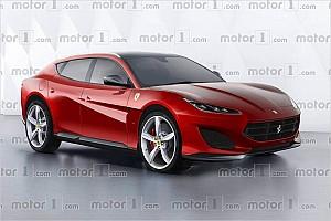 Automotive News So könnte das Ferrari-SUV aussehen