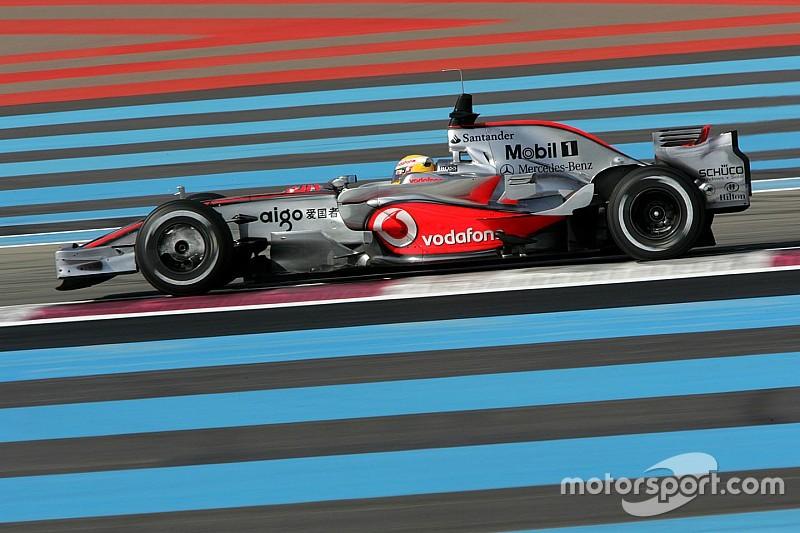 汉密尔顿:法国大奖赛选错了赛道