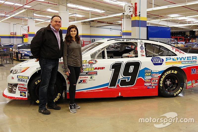 NASCAR Next driver Hailie Deegan joins BMR in NASCAR K&N ...