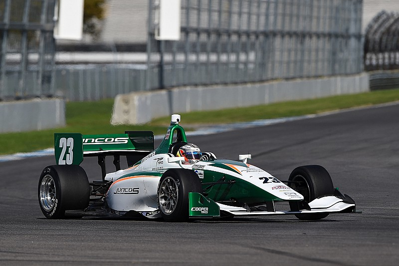 Juncos confirms Indy Lights ride for Pro Mazda champion Franzoni