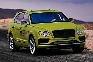 Auto Actualités Le Bentley Bentayga