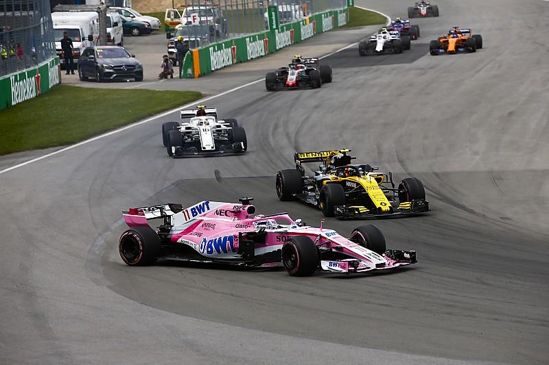Perez: Orta grubun en istikrarlı takımı Renault