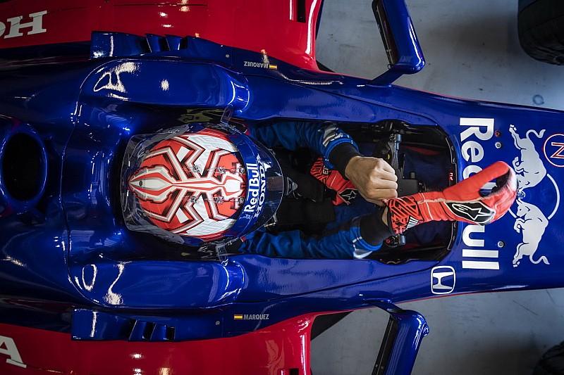 【フォトギャラリー】MotoGP王者マルク・マルケス、F1マシンを初ドライブ