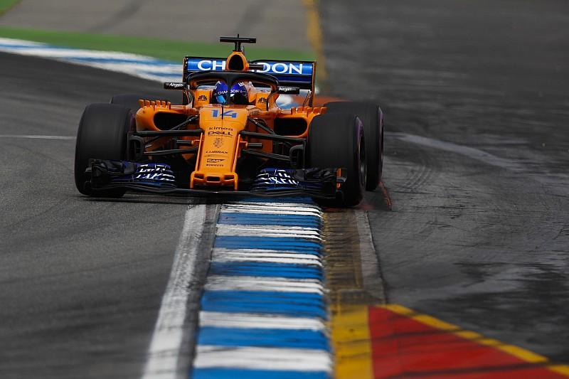 Alonso acepta que falló la estrategia de McLaren en Alemania