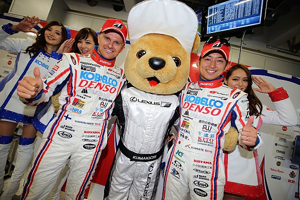 """コバライネン""""2007年F1日本GP以来の日本での表彰台"""""""