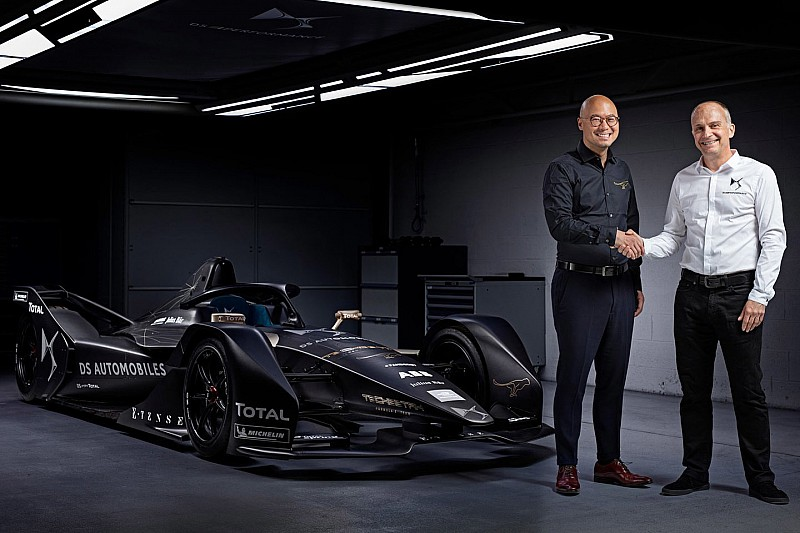 Techeetah станет партнером DS в пятом сезоне Формулы Е