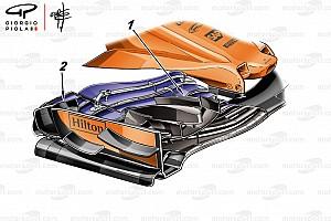 Formule 1 Actualités Technique - L'aileron délaissé par McLaren à Monaco