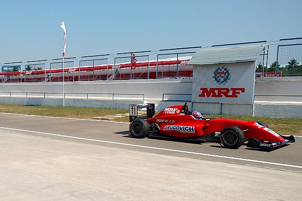 Indian Open Wheel Chennai MRF: Drugovich takes title as van Kalmthout wins Race 1