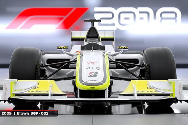 Brawn de 2009 estará no novo game F1 2018