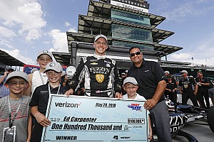 Carpenter: First lap of Indy 500 pole run