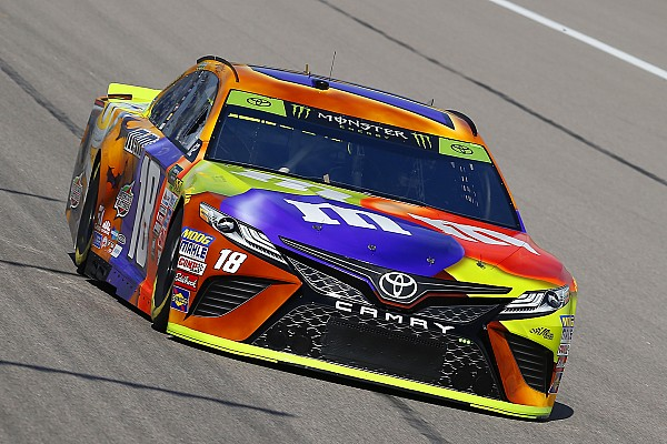 NASCAR Cup Race report Kyle Busch wins Stage 1 at Kansas as trouble befalls title rivals