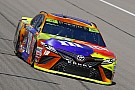 Kyle Busch wins Stage 1 at Kansas as trouble befalls title rivals