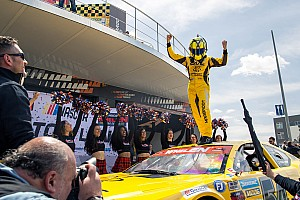 NASCAR Euro Breaking news Alon Day scores NASCAR Euro Series win in season opener