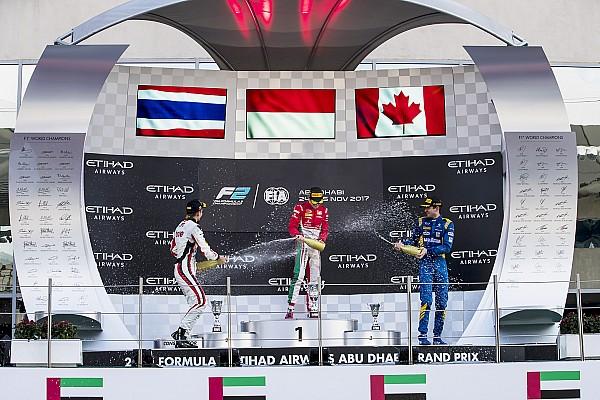 Leclerc supera a Albon en el final para vencer en la F2