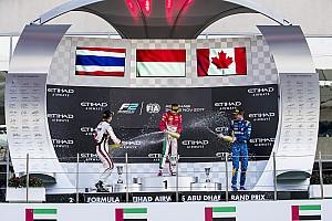 FIA F2 Reporte de la carrera Leclerc supera a Albon en el final para vencer en la F2