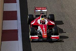 FIA F2 Relato da corrida Leclerc vence com ultrapassagem ousada na última volta