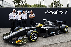 FIA F2 Важливі новини Формула 2 презентувала новий болід із Halo