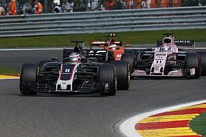 Formel 1 News Romain Grosjean vom Haas-Comeback beim F1-Rennen in Spa überrascht