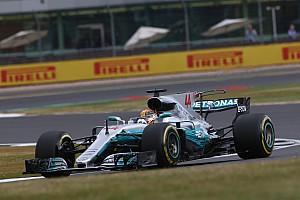 Formula 1 Practice report GP Inggris: Kalahkan Vettel, Hamilton unggul tipis 0,032 detik di FP3