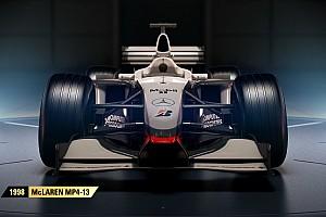 eSports Breaking news Tiga mobil McLaren lengkapi susunan mobil klasik F1 2017