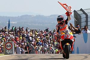 MotoGP Noticias de última hora Márquez apostó más de lo que tenía en Aragón