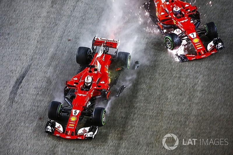 Vettel: acidente em Cingapura não mudará minha abordagem