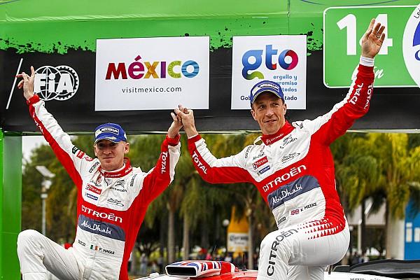 WRC 比赛报告 米克为雪铁龙拿下赛季首胜
