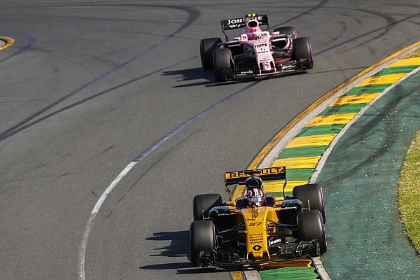 Force India, sorprendido por el rendimiento de Renault