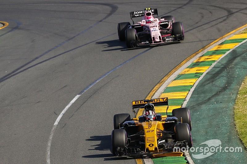 A Force India meglepődött a Renault teljesítményén