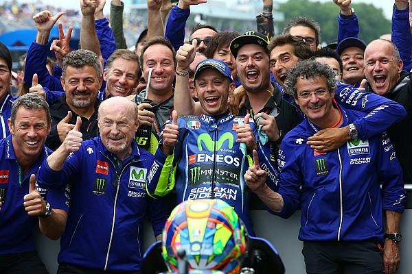 MotoGP Réactions Rossi retrouve la victoire et les sensations qu'il aime le plus