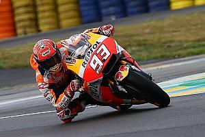 MotoGP Репортаж з практики Гран Прі Франції: Маркес став найшвидшим на розминці