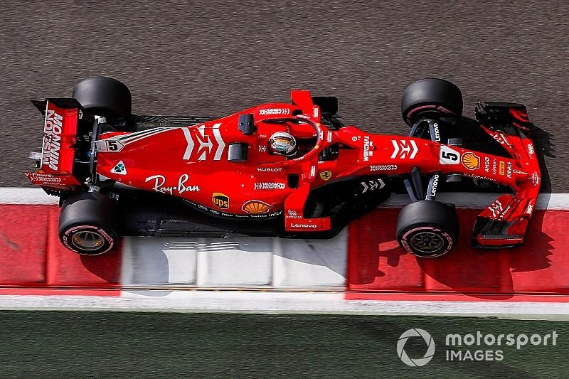 Vettel, el mejor del día en el Test, problemas para Raikkonen