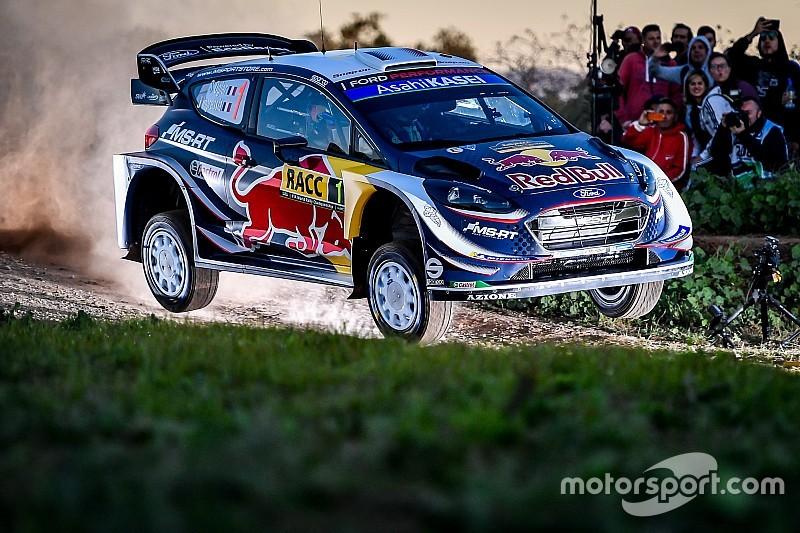 Katalonya WRC: Ogier lider, Loeb ve Block zaman kaybetti