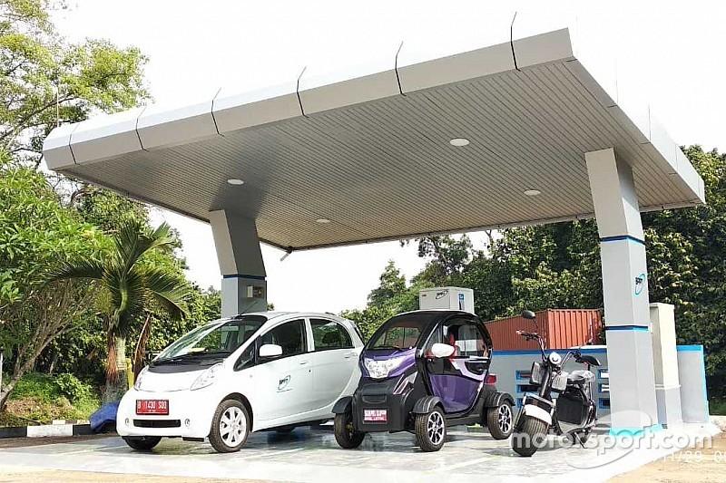 Pemerintah siapkan stasiun pengisian kendaraan listrik