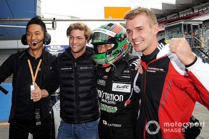 Giorgio Roda e Matteo Cairoli centrano la pole in GTE-Am alla 6 ore del Fuji