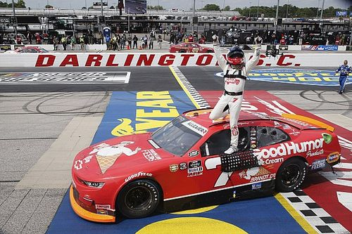 Justin Allgaier tops Berry for Darlington Xfinity win in OT