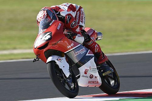 Debut Mengesankan Mario Aji di Moto3 Emilia Romagna