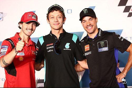 Valentino Rossi Utamakan Karakter dalam Mendidik Pembalap Muda