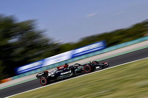 "Hamilton ""optimistic"" about Mercedes' chances after hot Hungarian GP practice"