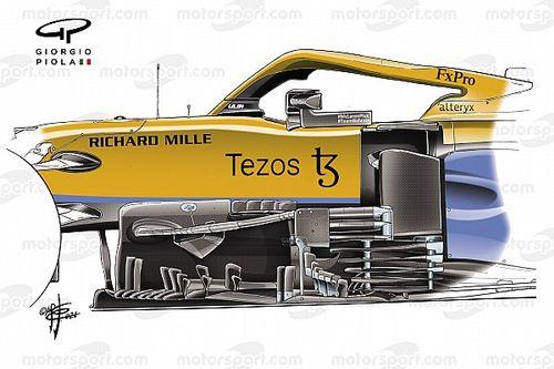 McLaren'ın Macaristan GP bumerang kanat güncellemesi