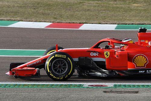 Sainz, tan rápido como Leclerc con el Ferrari desde el principio