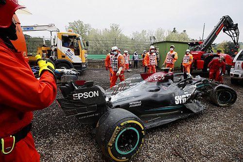 ラッセル、ボッタスとのクラッシュで入賞逃す「彼は別のドライバーなら、ああいう動きはしなかっただろう」