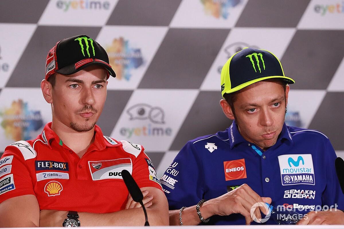 Jorge Lorenzo über Valentino Rossi: