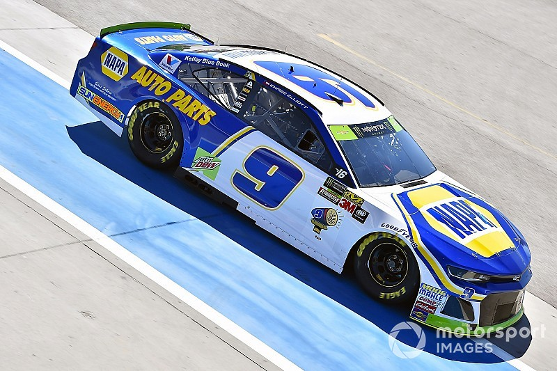 Chase Elliott finds himself in the playoff drop zone after Las Vegas